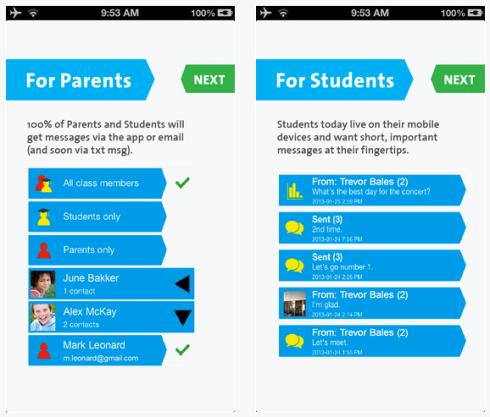 Screen shot dell'applicazione WDWDT