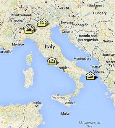 La mappa delle Little Free Library italiane