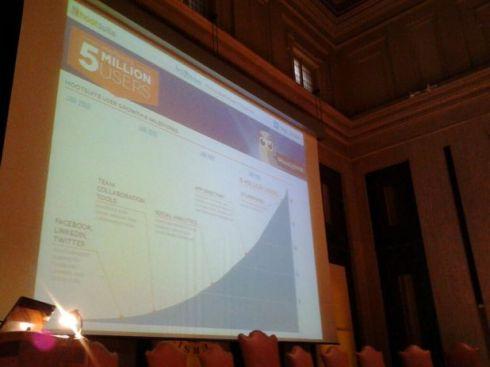 Un momento di learning con Hootsuite, in uno scatto pubblicato sul blog della piattaforma