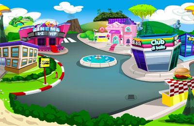 Uno dei mondi virtuali di Twigis.it